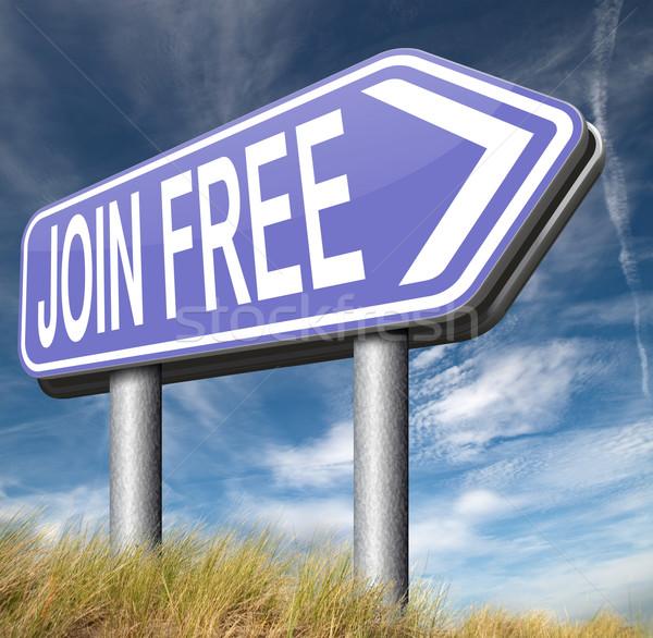 join for free Stock photo © kikkerdirk