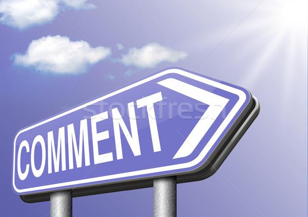 コメント 書く 顧客 ユーザー 製品 フィードバック ストックフォト © kikkerdirk