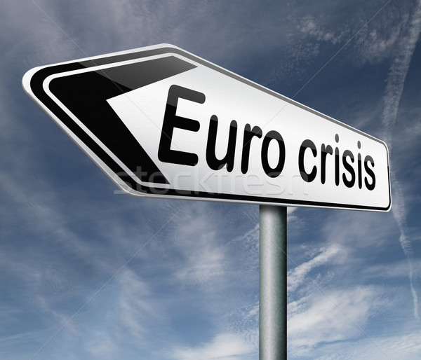 Euro crisis Stock photo © kikkerdirk