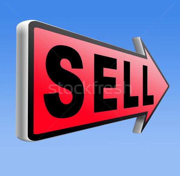 Verkopen online producten internet webshop web Stockfoto © kikkerdirk