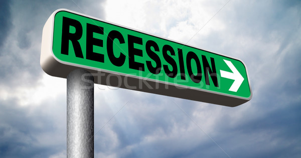 рецессия экономический рынке аварии глобальный банка Сток-фото © kikkerdirk