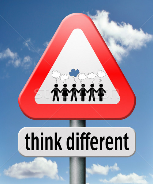 think different Stock photo © kikkerdirk