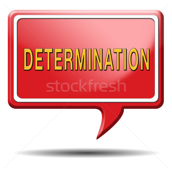 determination Stock photo © kikkerdirk