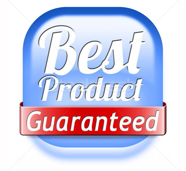 Сток-фото: лучший · продукт · гарантированный · Label · штампа · наклейку