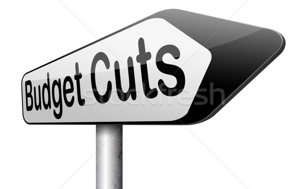 budget cuts Stock photo © kikkerdirk