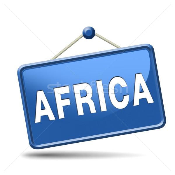 Africa icon Stock photo © kikkerdirk