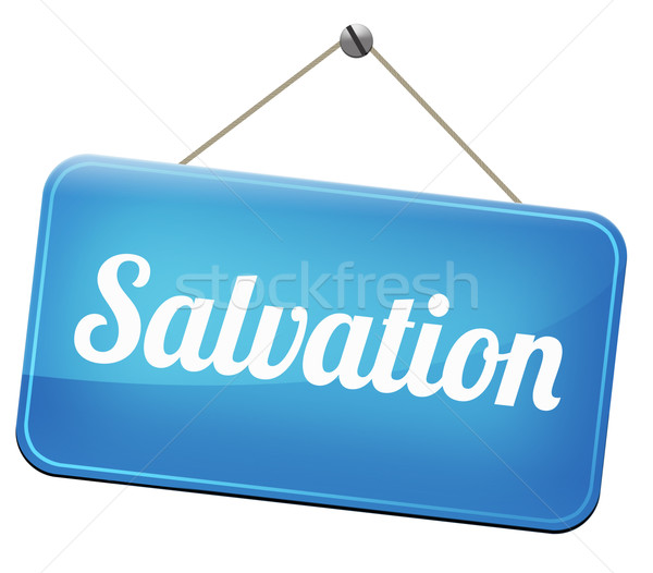salvation Stock photo © kikkerdirk