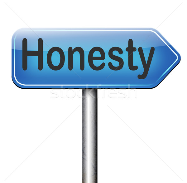 honesty Stock photo © kikkerdirk