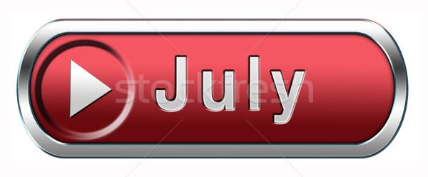 July icon Stock photo © kikkerdirk