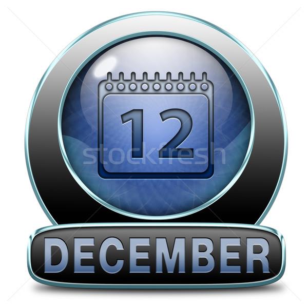 December utolsó hónap év téli idény esemény Stock fotó © kikkerdirk
