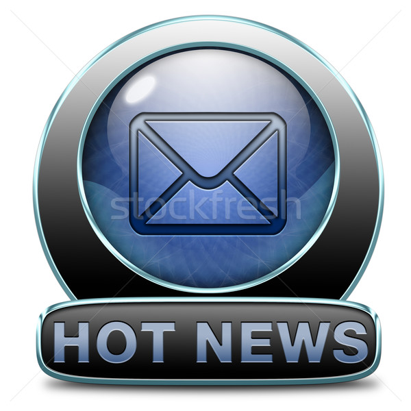 hot news Stock photo © kikkerdirk