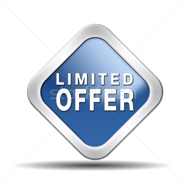 limited offer Stock photo © kikkerdirk