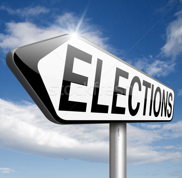 Választások új kormány elnök szabad választás Stock fotó © kikkerdirk