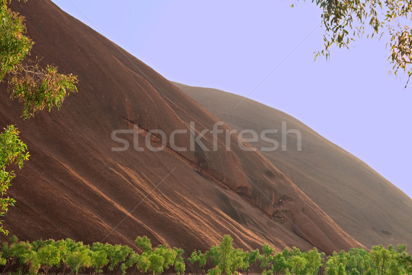 red rock formation background Stock photo © kikkerdirk