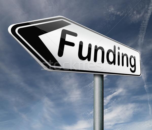 Liefdadigheid geld schenking winst organisatie Stockfoto © kikkerdirk