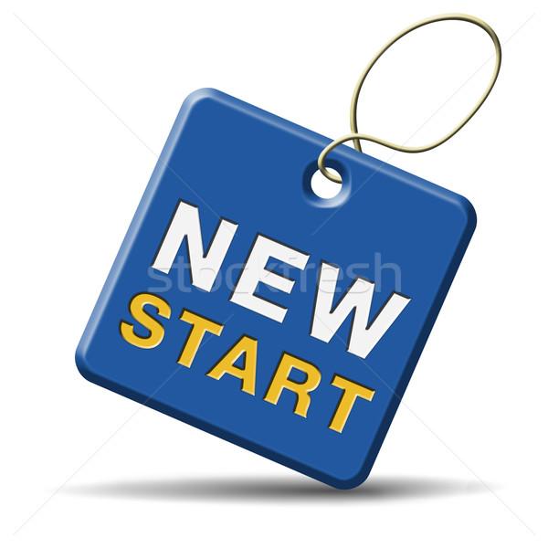 New start Stock photo © kikkerdirk