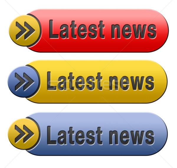 latest news Stock photo © kikkerdirk