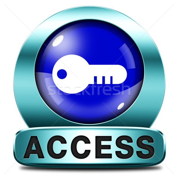 access icon Stock photo © kikkerdirk