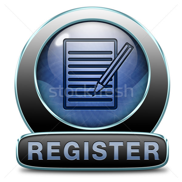 register now Stock photo © kikkerdirk