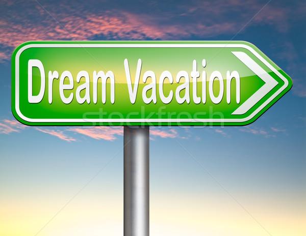dream vacation Stock photo © kikkerdirk