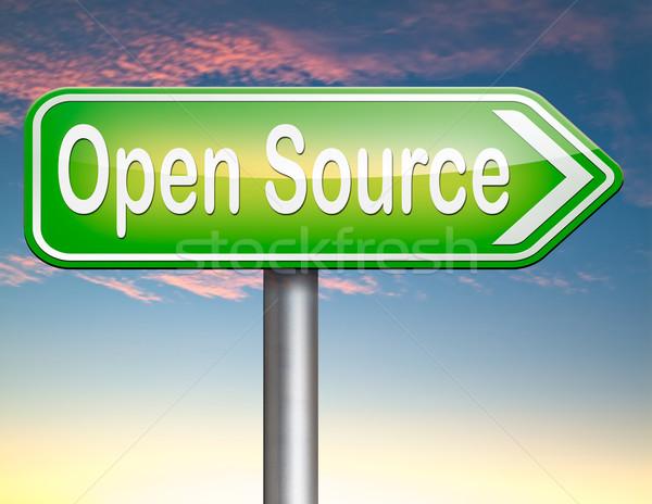 オープン ソース プログラム ソフトウェア 経済 インターネット ストックフォト © kikkerdirk