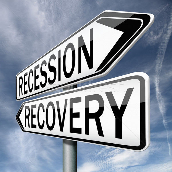 recession or recovery Stock photo © kikkerdirk