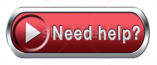 Szükség segítség keresett segítő kéz támogatás támogatás Stock fotó © kikkerdirk