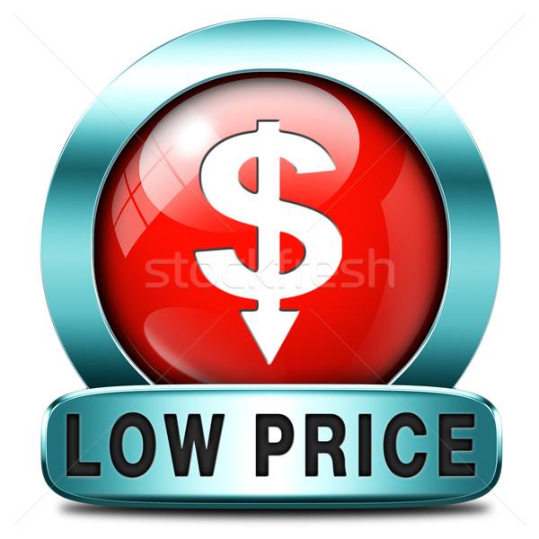 Alacsony ár termék promóció eladó alkalmi vétel Stock fotó © kikkerdirk