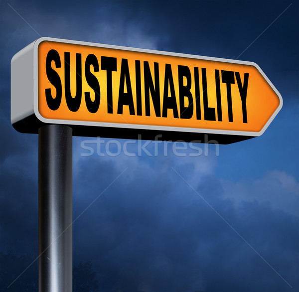 sustainability Stock photo © kikkerdirk