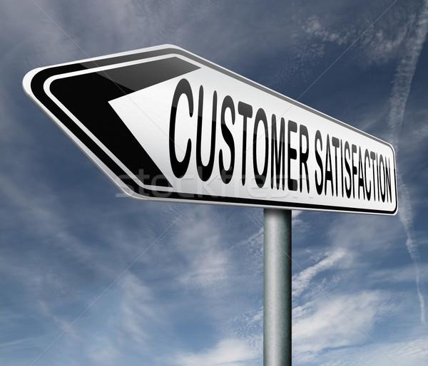 customer satisfaction Stock photo © kikkerdirk