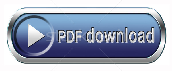 Pdf скачать файла документа кнопки икона Сток-фото © kikkerdirk