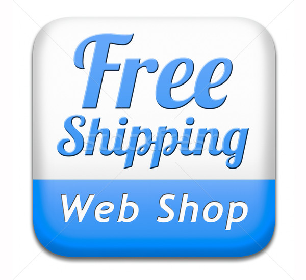 Photo stock: Libre · web · magasin · livraison · gratuite · livraison · de · colis · ordre