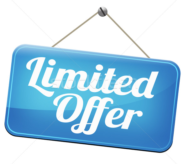 limited offer Stock photo © kikkerdirk