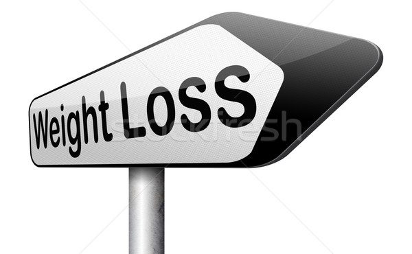 weight loss Stock photo © kikkerdirk