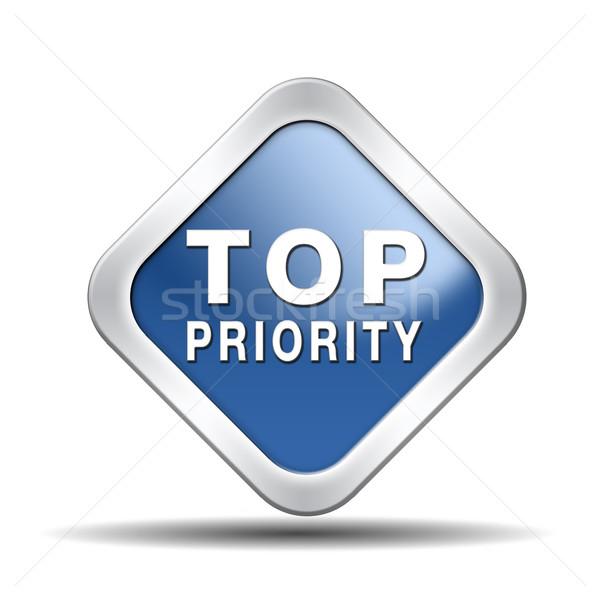 top priority Stock photo © kikkerdirk