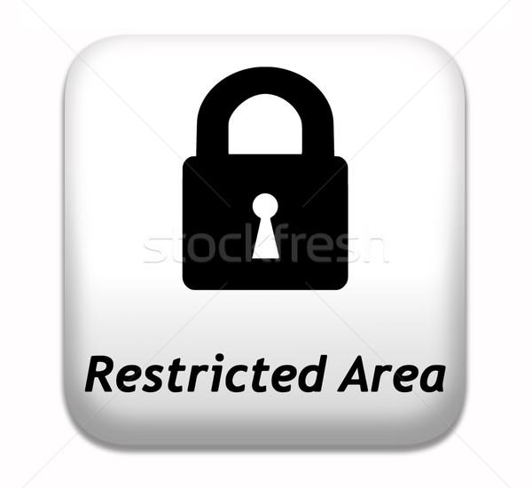 Stockfoto: Beperkt · lidmaatschap · wachtwoord · beschermd · toegang · sleutel