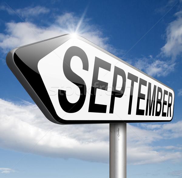 September Stock photo © kikkerdirk