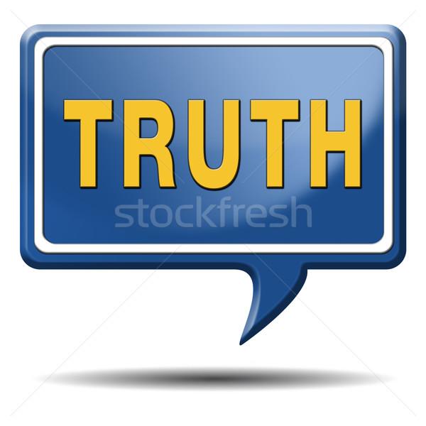Waarheid eerlijk eerlijkheid lang manier vinden Stockfoto © kikkerdirk