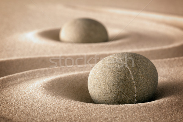purity and spirituality in zen garden Stock photo © kikkerdirk
