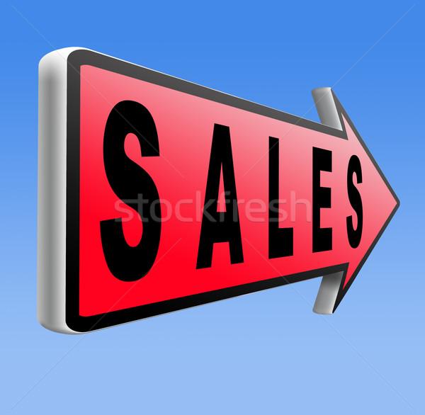 Online eladó online vásárlás árengedmény háló bolt Stock fotó © kikkerdirk