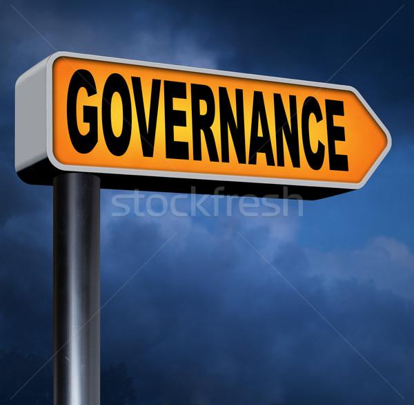 хорошие справедливой последовательный управления корпоративного Сток-фото © kikkerdirk