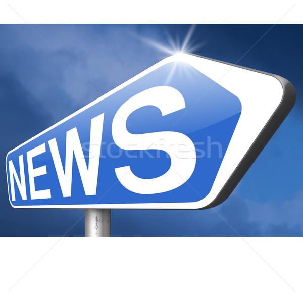hot news Stock photo © kikkerdirk