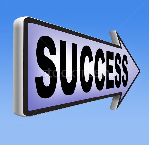 road to success Stock photo © kikkerdirk