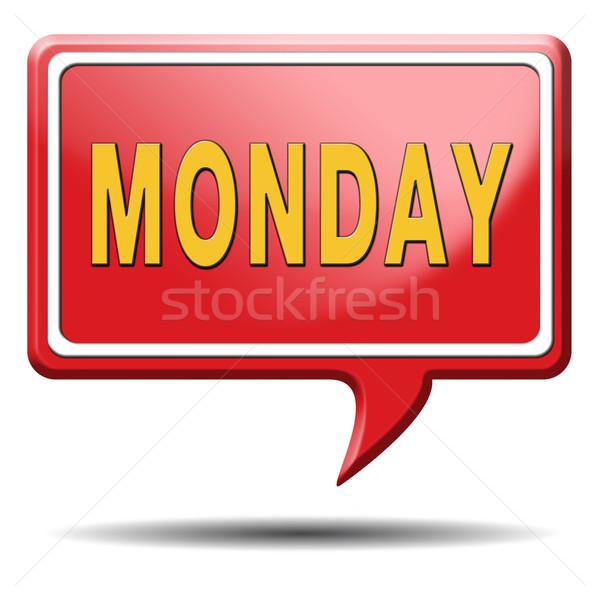 Stockfoto: Week · volgende · dag · schema · afspraak · evenement
