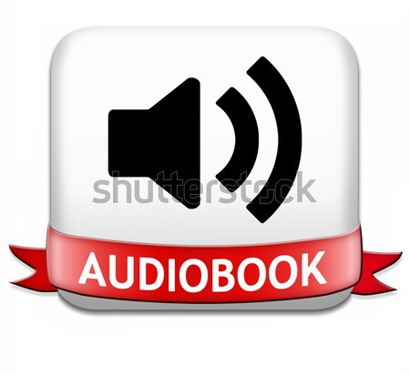 audiobook button Stock photo © kikkerdirk