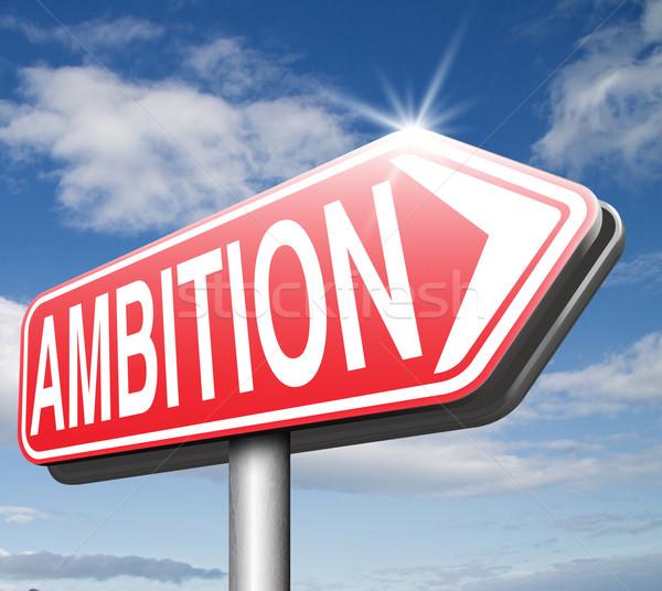 амбиция думать большой набор изменений Сток-фото © kikkerdirk