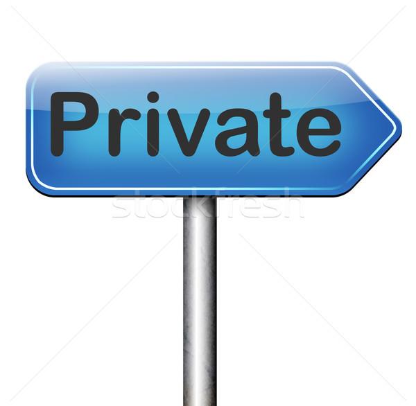 private Stock photo © kikkerdirk