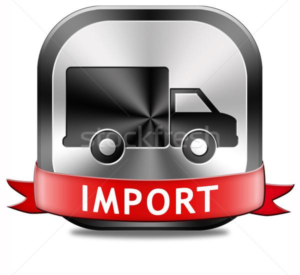 импортный международная торговля международных всемирный глобальный торговли Сток-фото © kikkerdirk