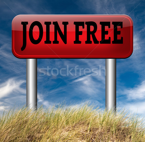 join for free Stock photo © kikkerdirk
