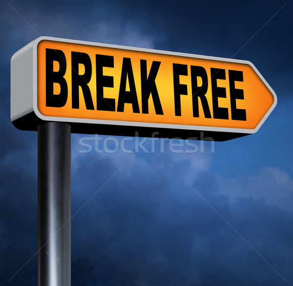 break free Stock photo © kikkerdirk